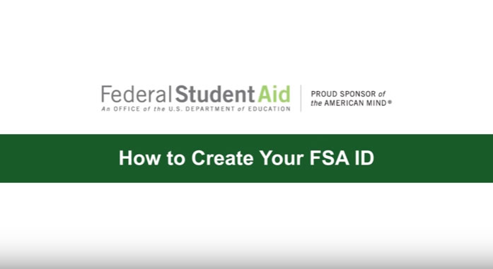 How to create FSA ID