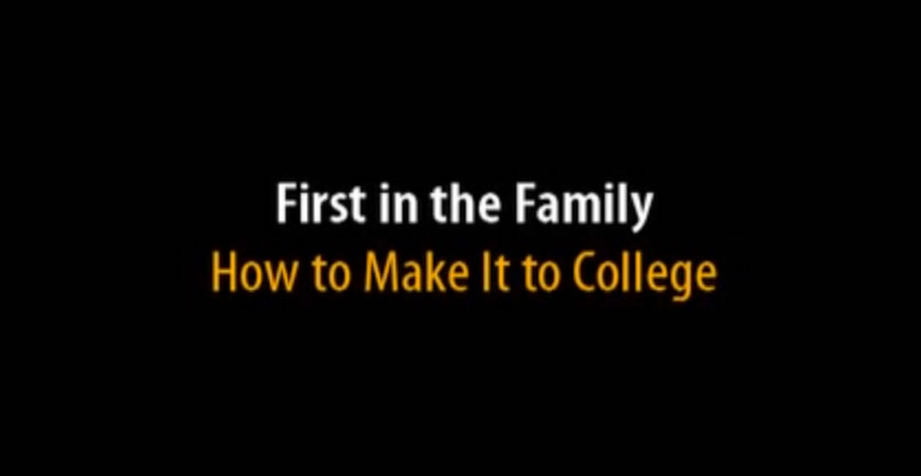 How to make it to college